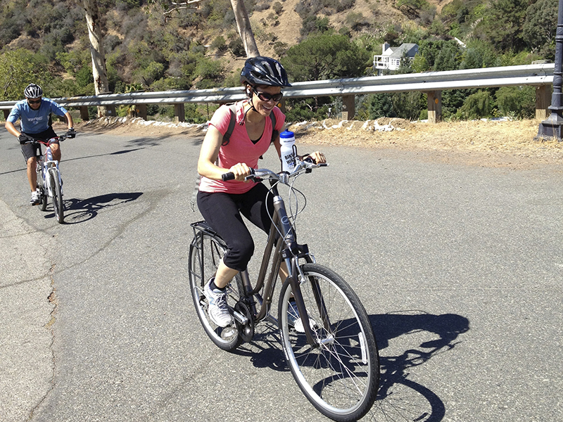 Outdoor Spin Class Los Angeles, Bikese and Hikes LA