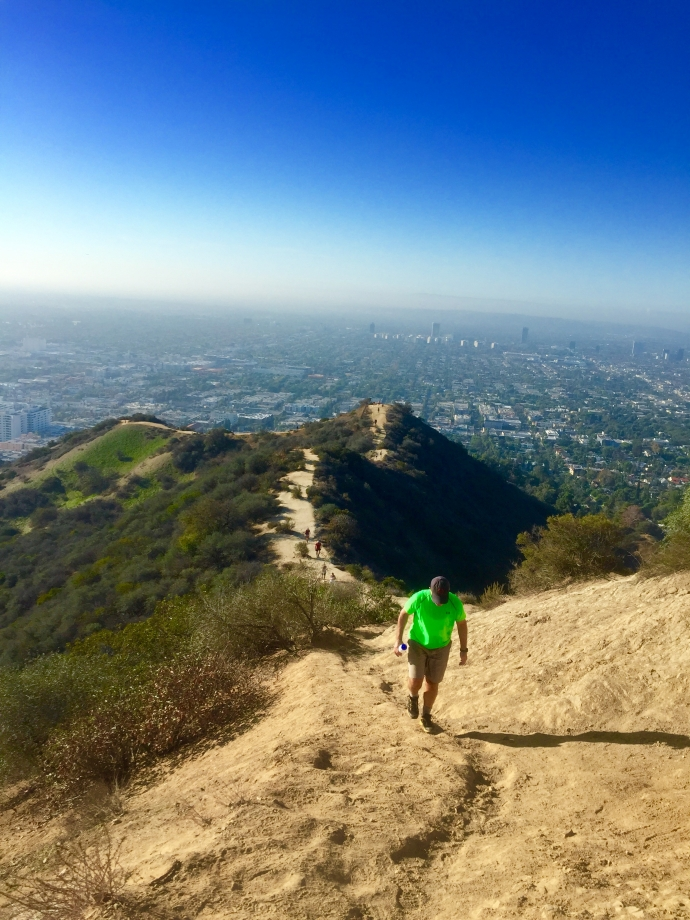 Runyon Canyon Hike 1