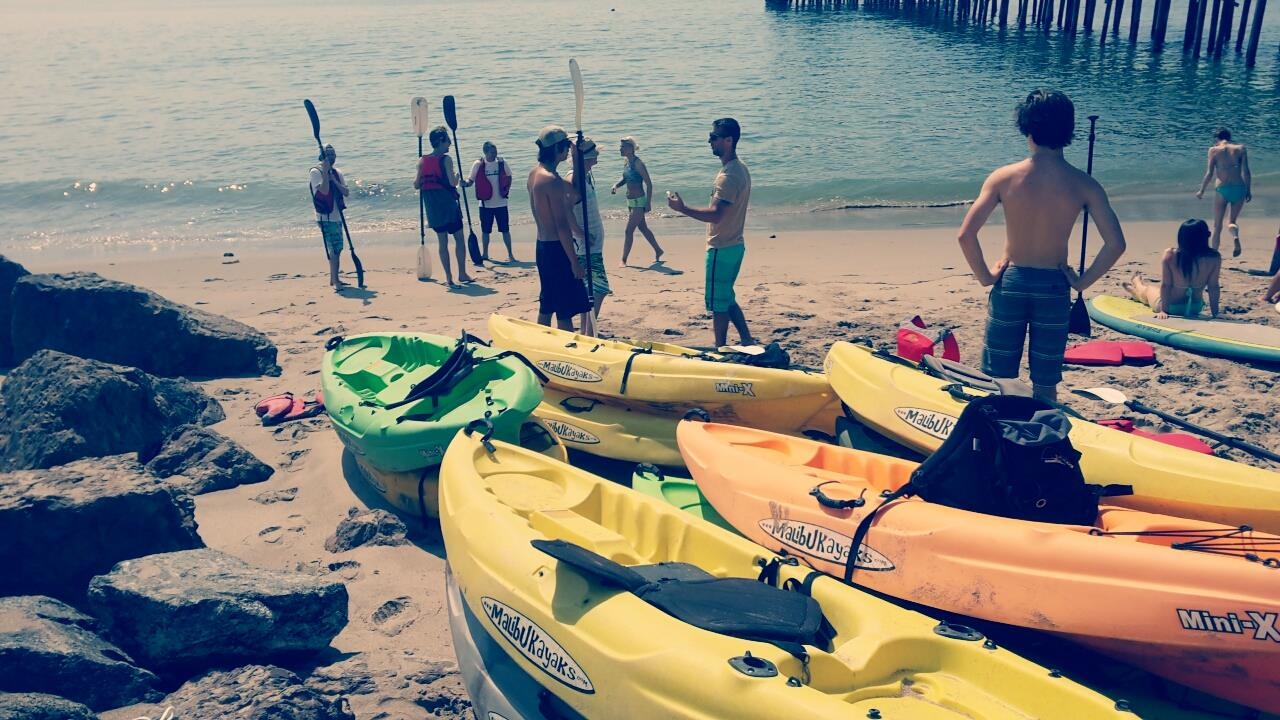 Private Group Tours Los Angeles Kayaking, Bikes and Hikes
