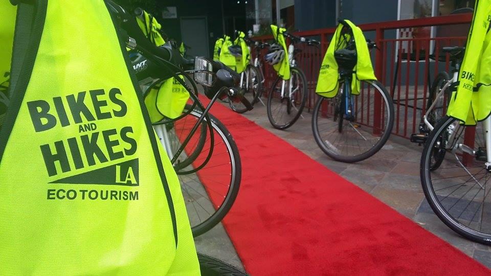 Tour Set-Up Red Carpet Hybrid Bikes