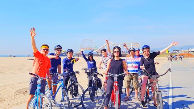 group bike tour Santa Monica