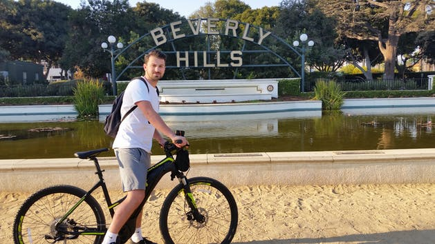 Beverly Hills Sign Sightseeing Tour Celebrity Homes