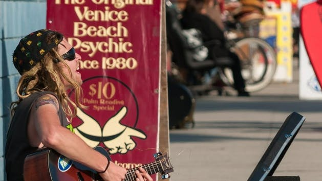 Venice Beach Cs Private Group Walking Tour