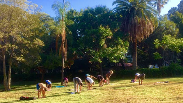 Group Yoga Class LA