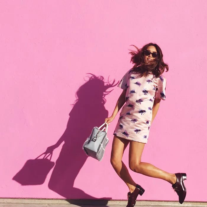 Pink Wall Paul Smith