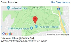 Griffith Park Los Angeles Map.Active Jewish Singles Hollywood Hills Hike Los Angeles