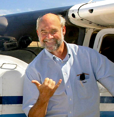 Bruce Coulombe - Wings Over Kauai air tour pilot