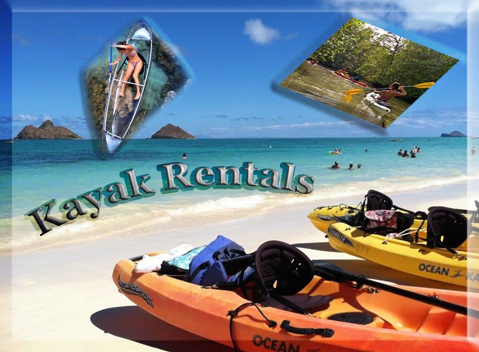 Oahu Kayak Rentals Twogood Kayaks