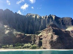 Na Pali Experience Catamaran Tour Kalalau