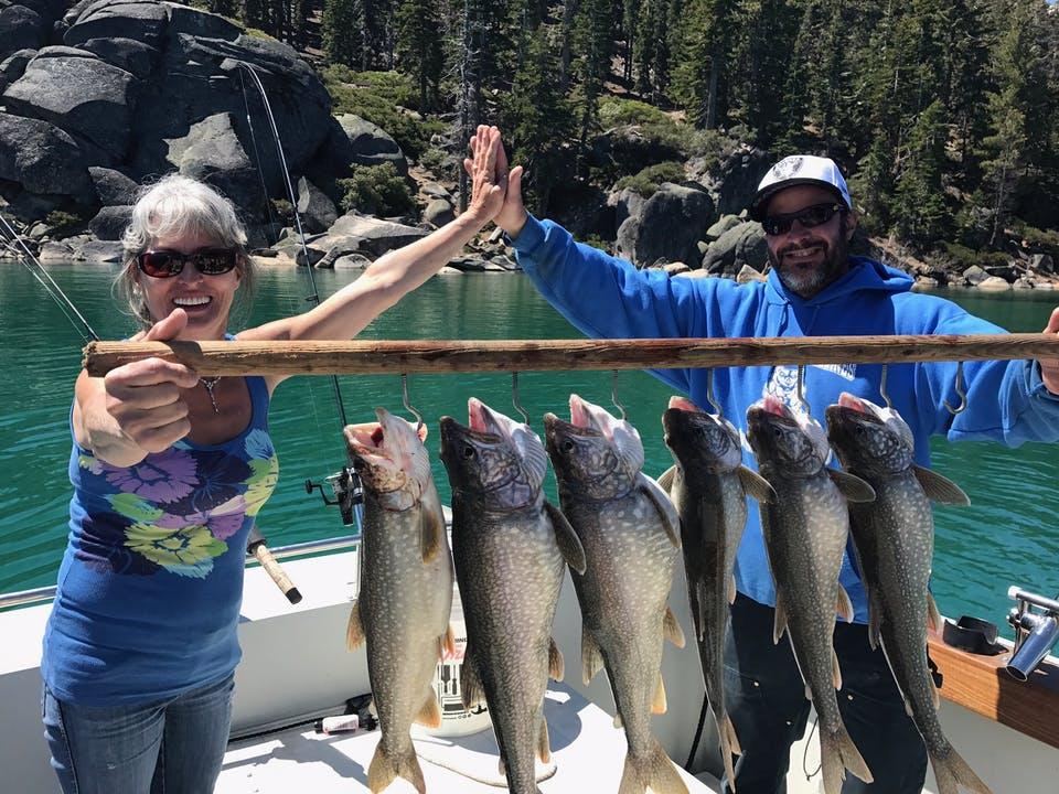 south lake tahoe 39 s best fishing charters nor cal charters