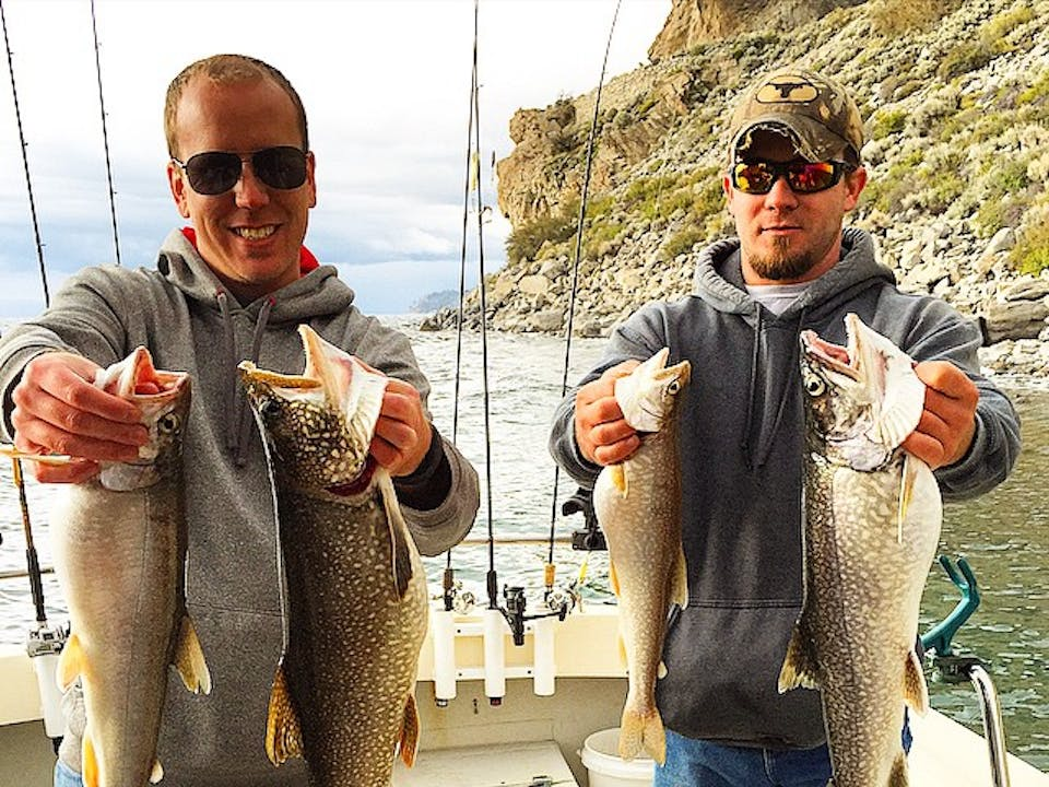 South lake tahoe 39 s best fishing charters nor cal charters for Shore fishing lake tahoe