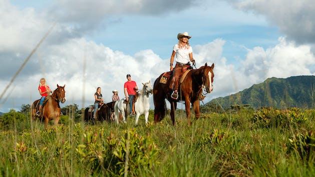 Waterfall Picnic Horseback Ride