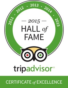 TripAdvisor Scottsdale Hall of Fame Award Desert Wolf ATV Tours