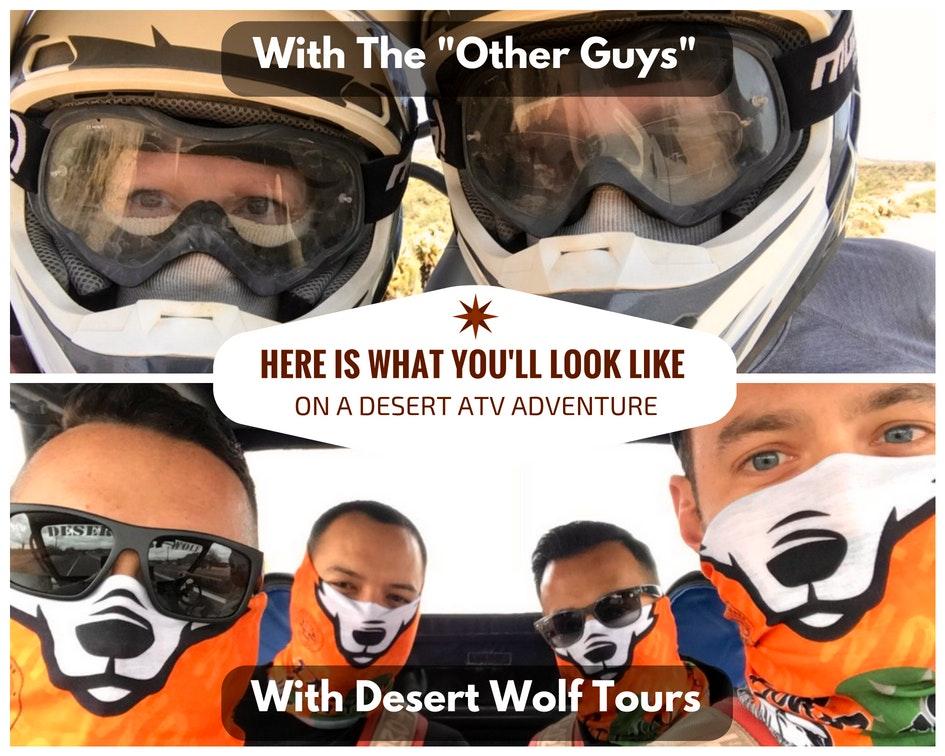 Desert Wolf Tours No Helmet