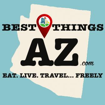 BestThingsAZ logo - Desert Wolf Tours
