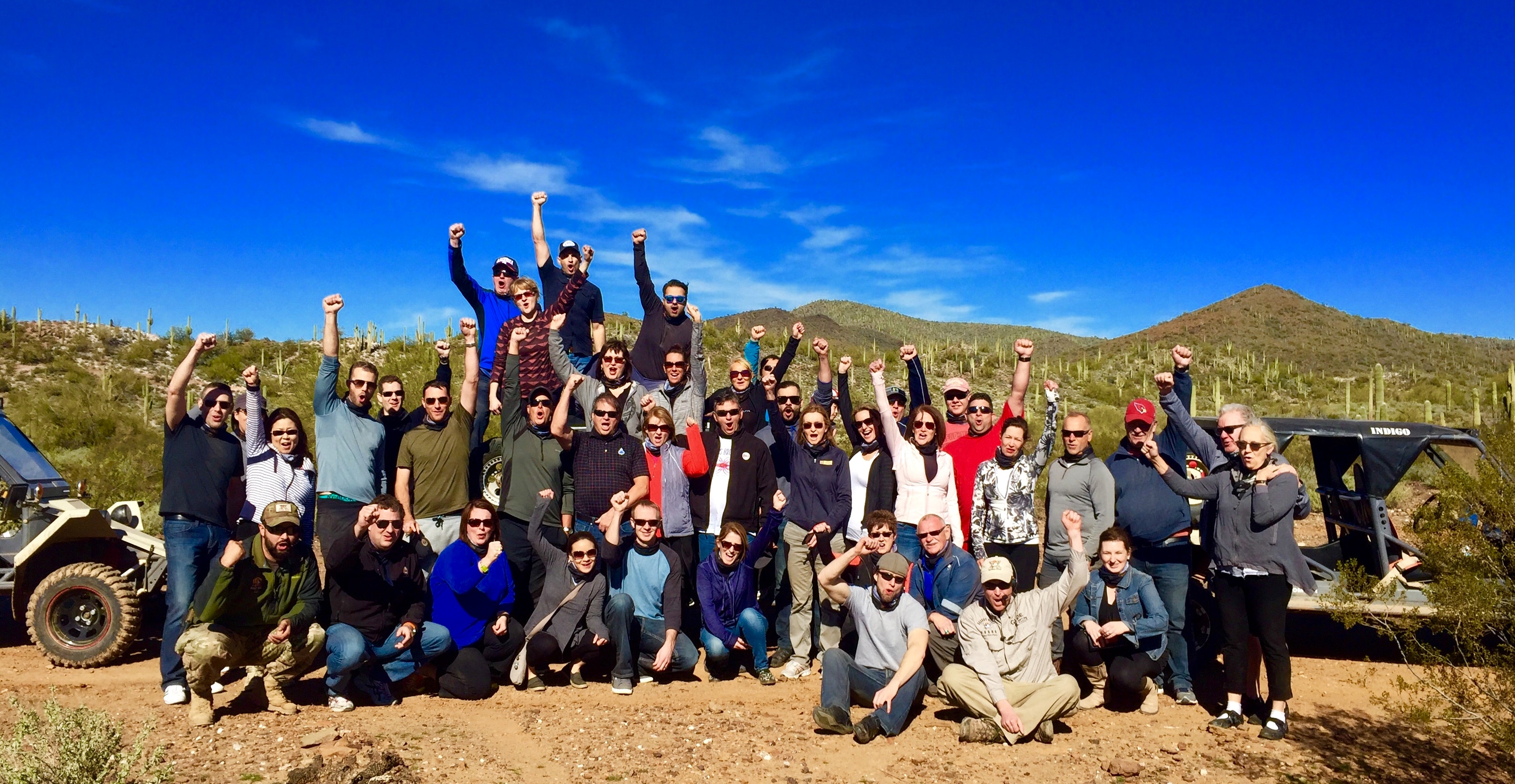 team building and group adventures - desert wolf tours - scottsdale - phoenix