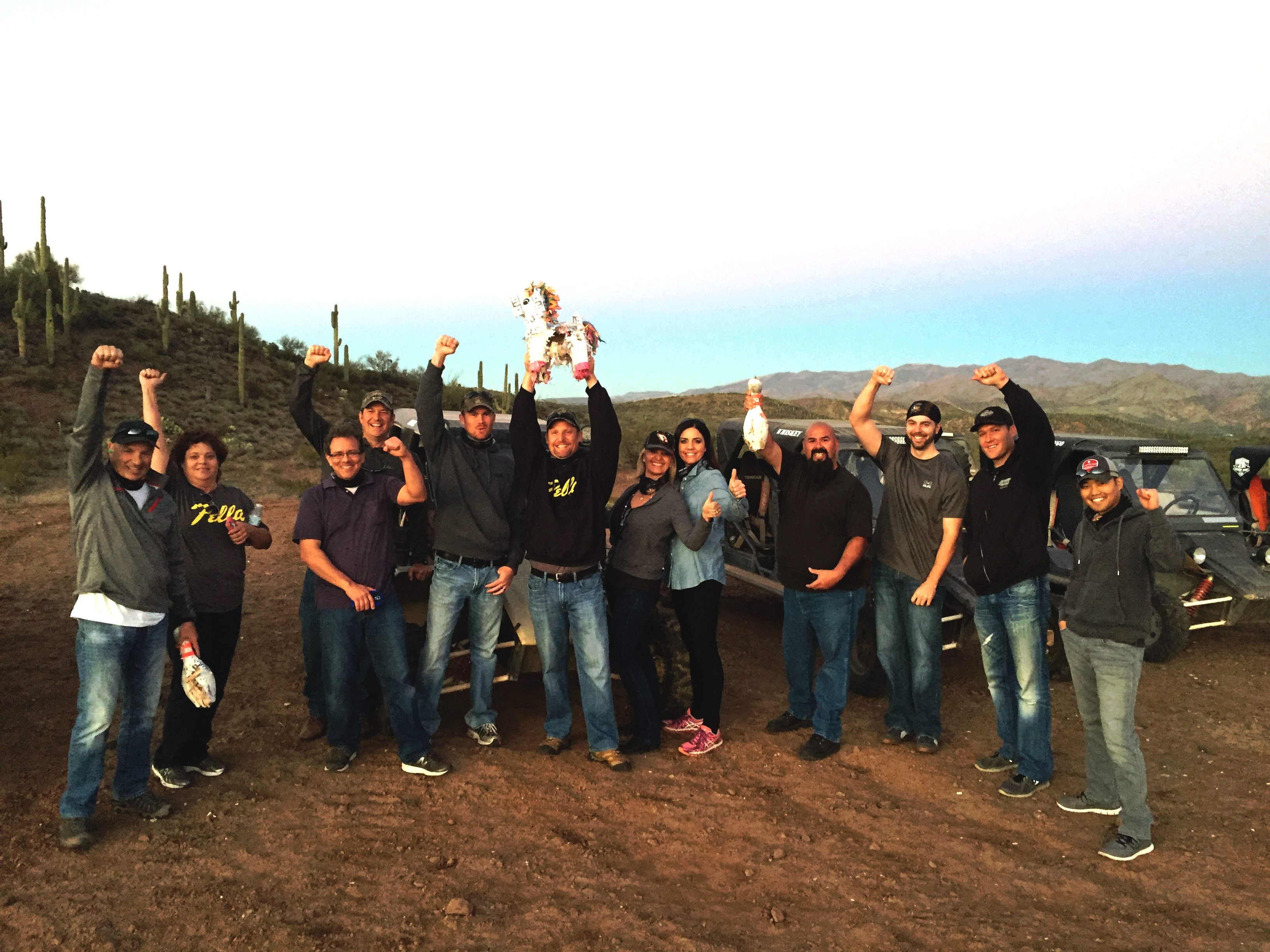 Corporate and Group Team Building Activities in Scottsdale, Phoenix