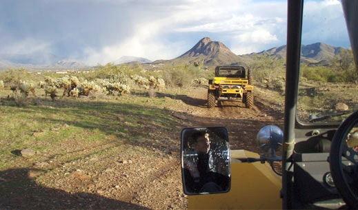 Things to do in Scottsdale Tomcar ATV tour