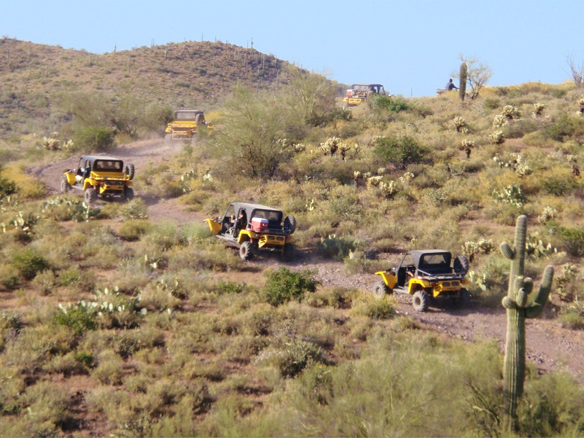 Desert Wolf Tours ATV Tour Scottsdale