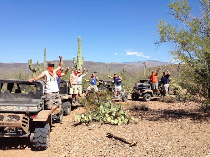 ATV rental tour -things to do in Scottsdale AZ