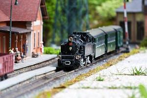 Model train in Virginia