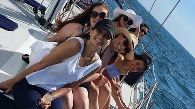 Women on a Private Charter ...