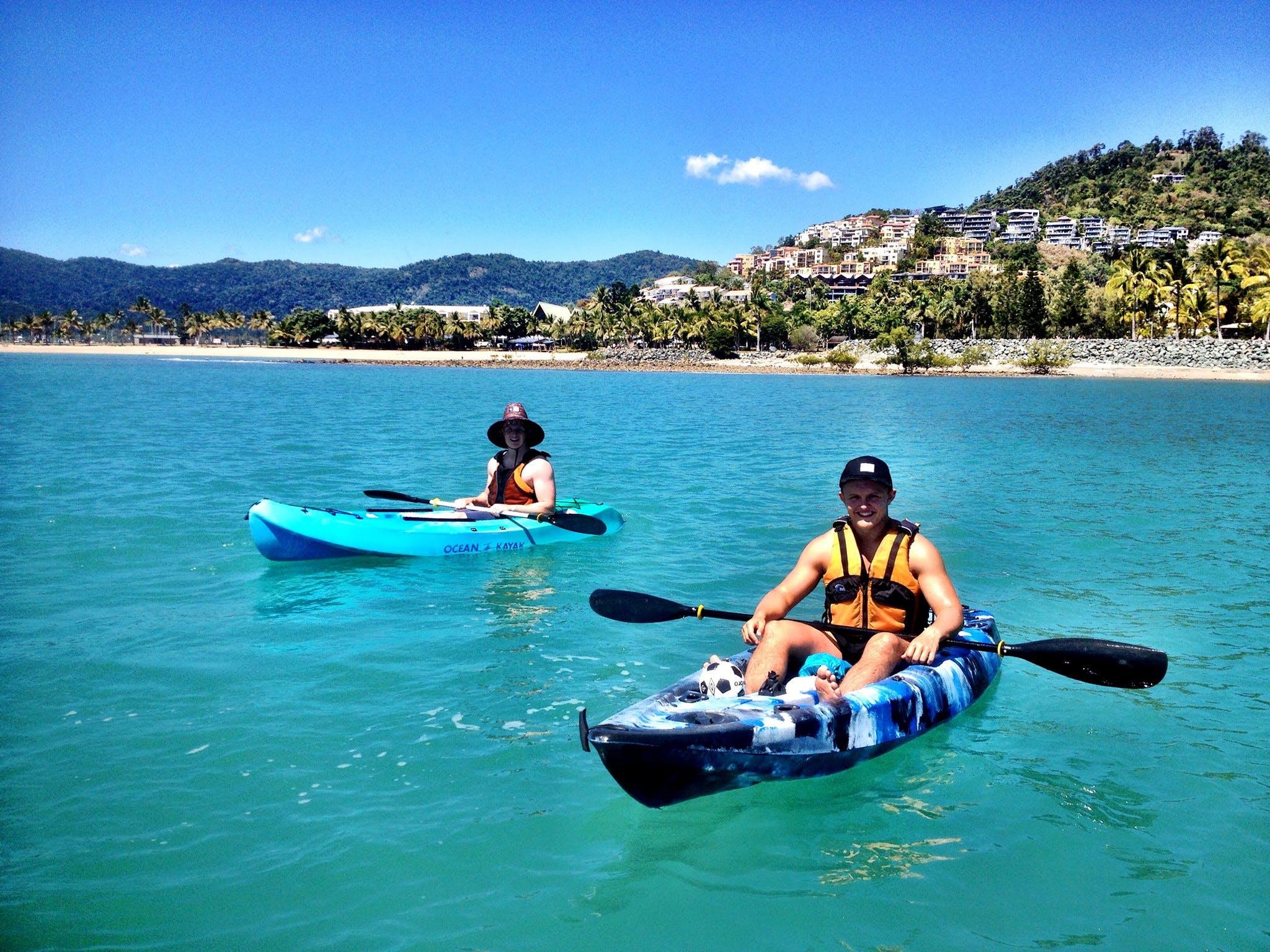Kayak Hire Whitsunday Stand Up Paddle Board And Kayak