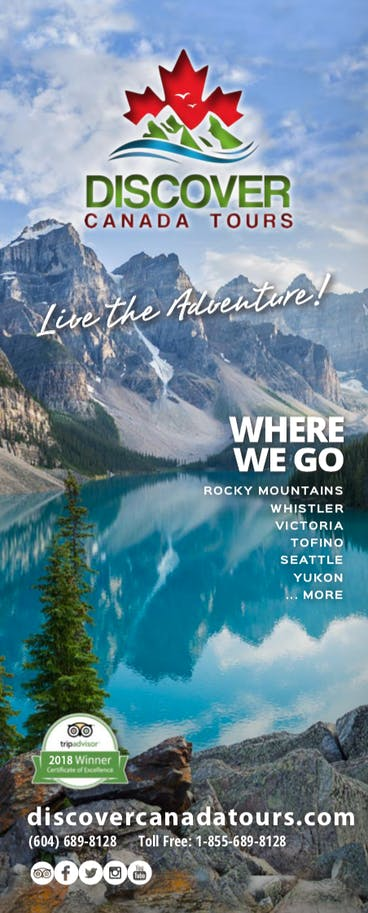 Brochures | Discover Canada Tours
