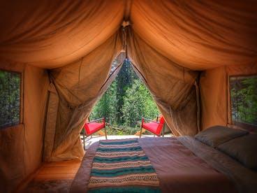 Glamping Tent in Alaska