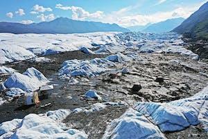Glacier Camp on the Matanuska Glacier