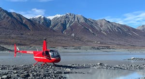 Helicopter in Matanuska Valley