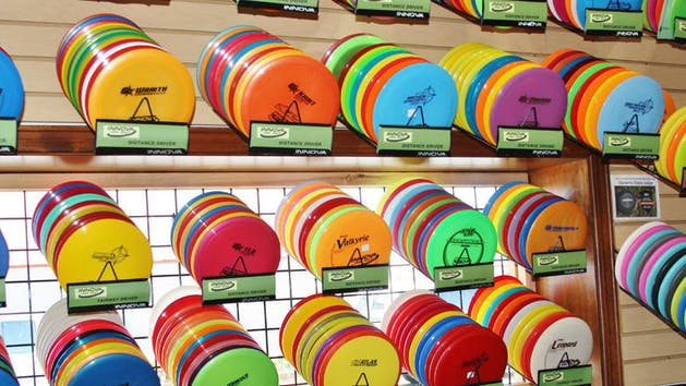 Disc Golf Rental