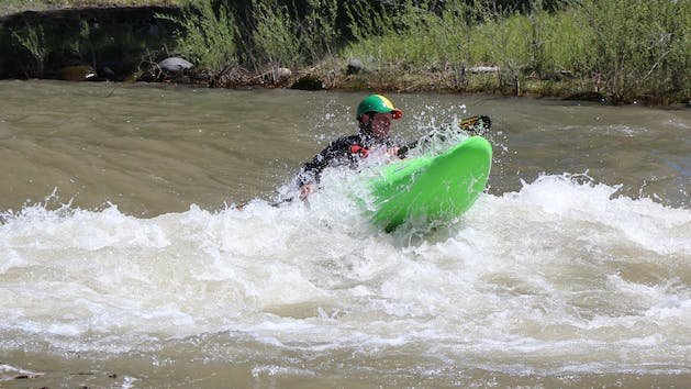 Two Day Beginner Group Whitewater Kayak Instruction Image 1