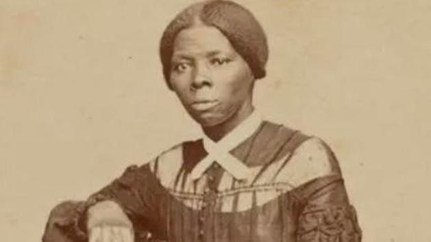 a vintage photo of Harriet Tubman