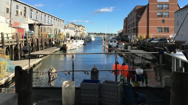 Portland: Old Port Lunchtime