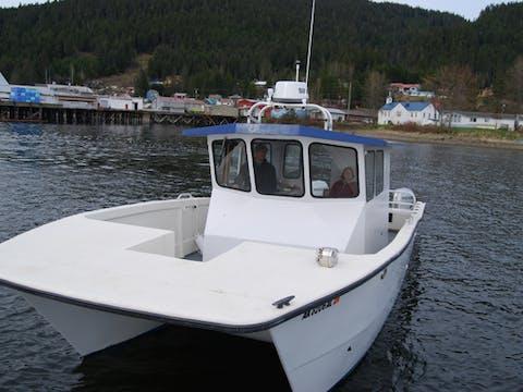 Glacier Wind Charters catamaran