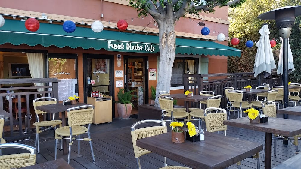 Hollywood Food Tour Los Angeles French Market Caf On Abbot Kinney