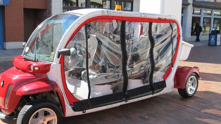 The ATL Cruzers electric car