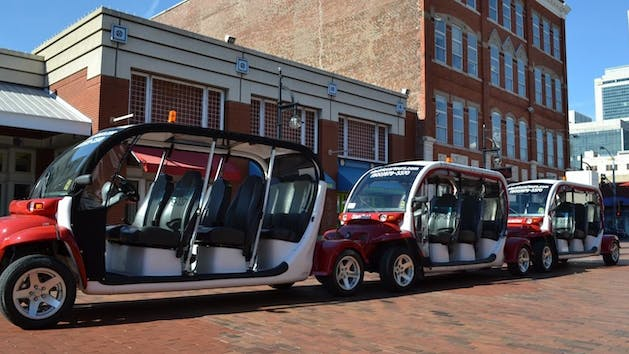 Atlanta Experience Tour By Electric Car