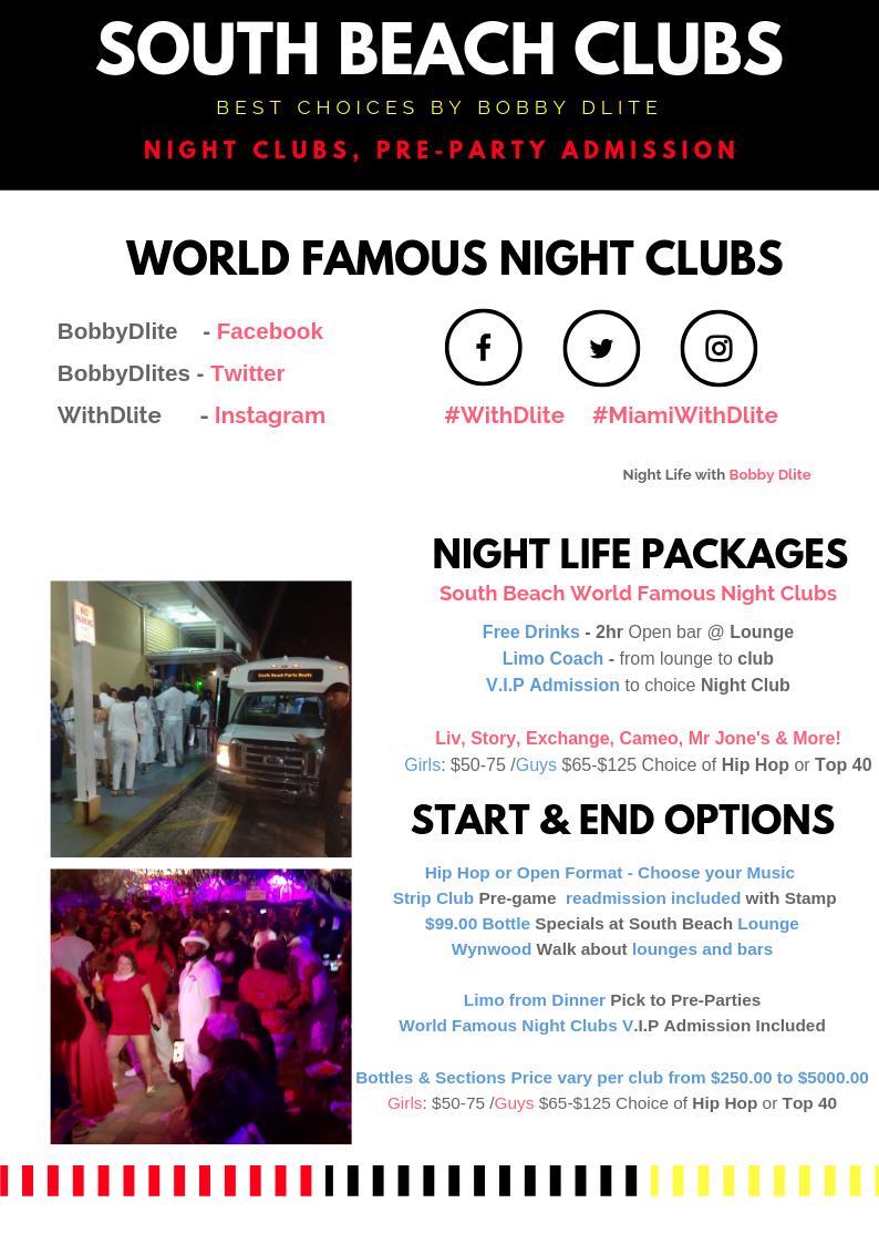 Night Club info