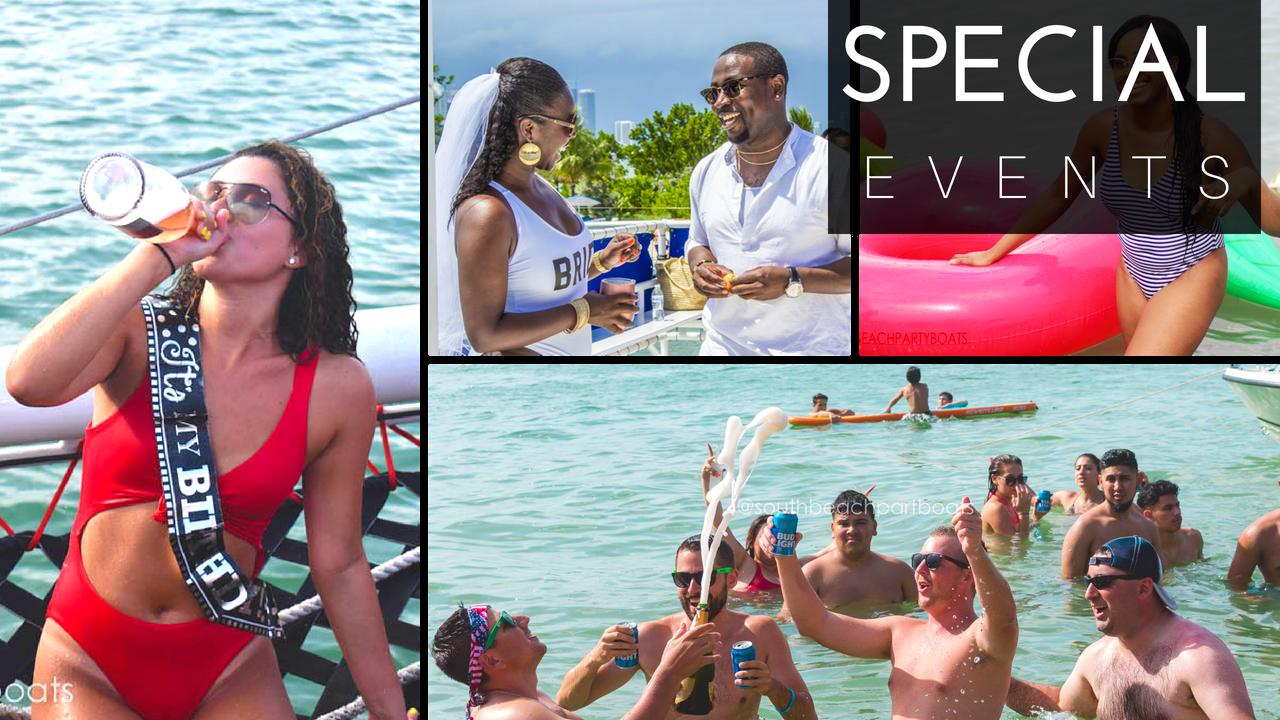 miami special events miami wedding destination cruise bachelorette boat party yacht party miami