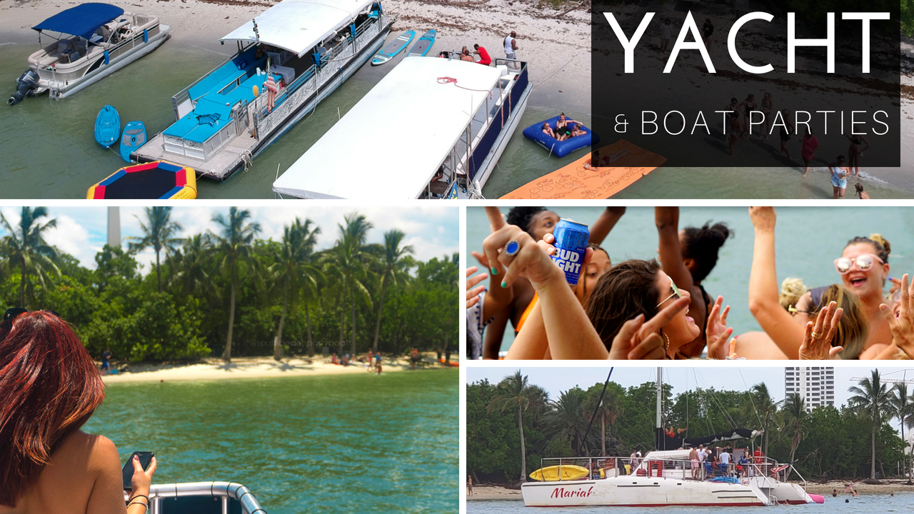 south beach party boats miami party boats things to do miami sailing yacht party