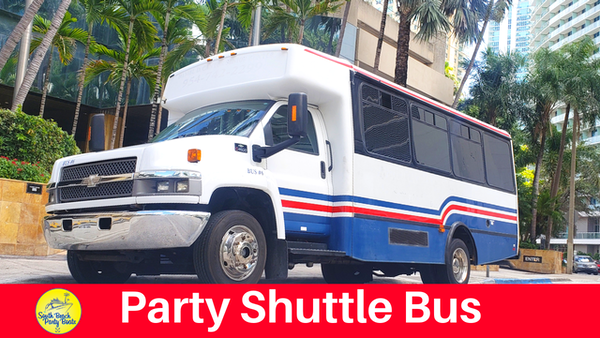 miami party bus shuttle south beach transportation