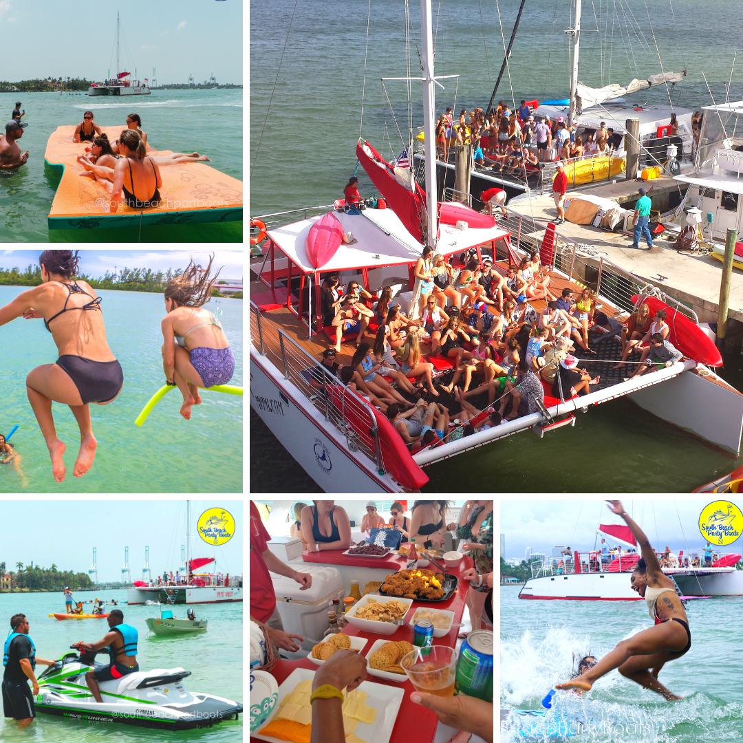 Miami Yacht Party   South Beach Party Boats, Boat Rental