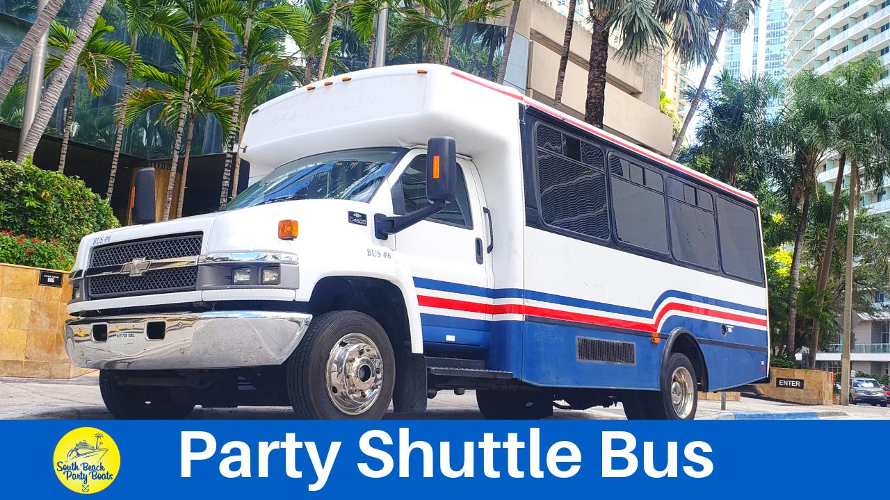 party shuttle miami tranportation things to do miami tours