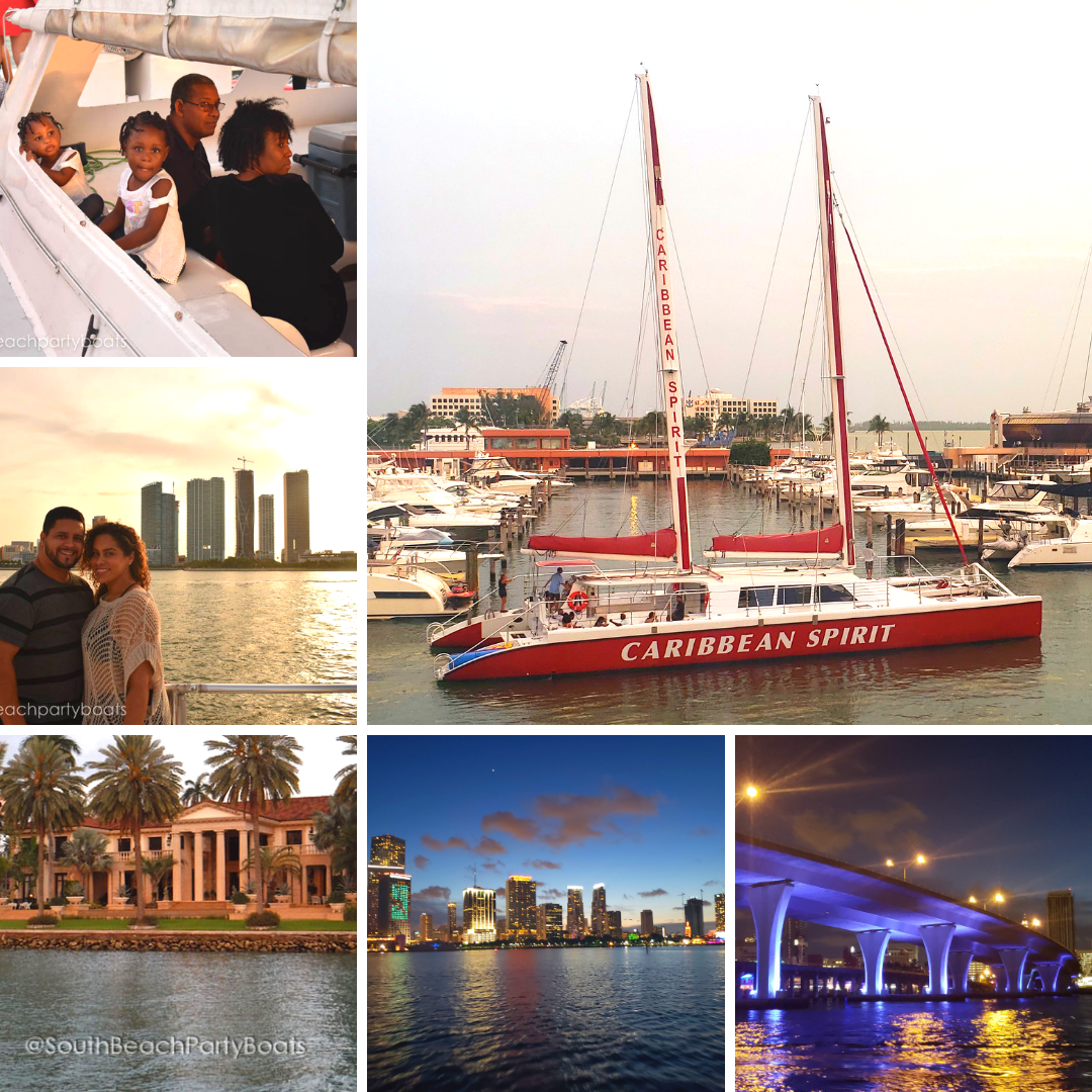 Key Biscayne Miami Sunset Cruise Sail Night Cruise