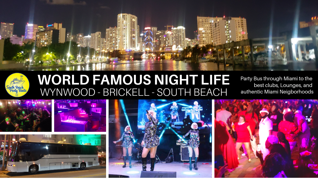 miami nightlife tour and party bus
