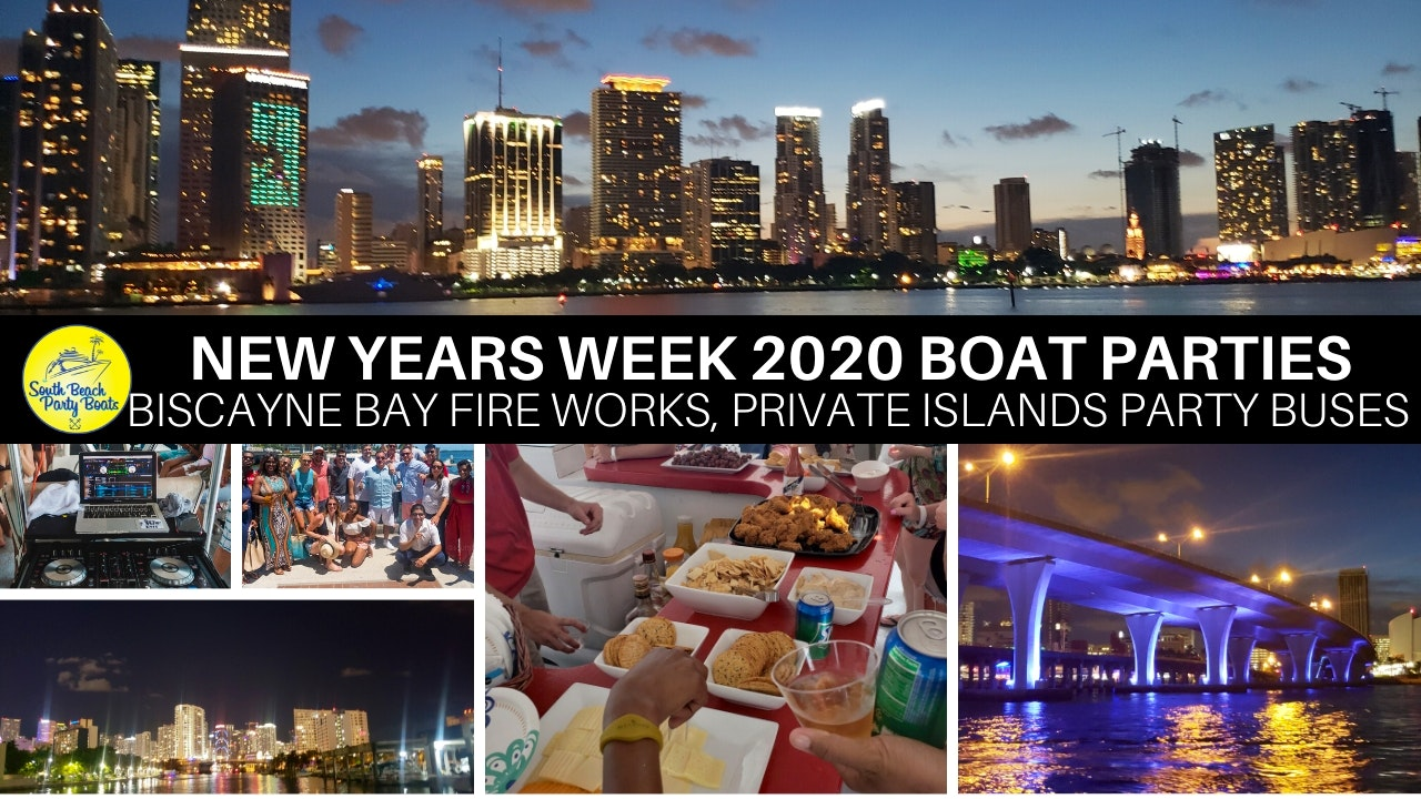 New Years Eve 2020 Party Cruise in Miami and South Beach