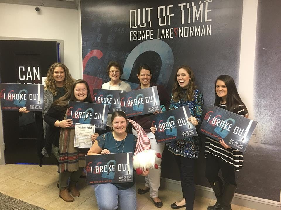 Out Of Time Escape Lake Norman S Live Escape Room Game