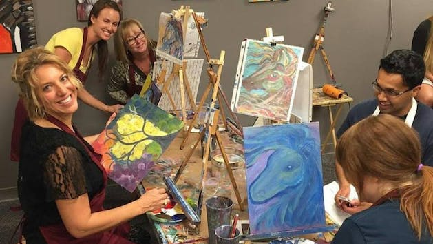 Sip-n-Doodle BYOB Painting Class